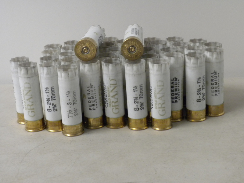 12 Ga Federal Gold Medal 1X hulls - GRANDS